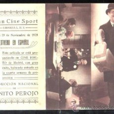 Cine: PROGRAMA DE CINE DOBLE. C/P. ES MI HOMBRE. GRAN CINE SPORT. EMPRESA L.M.S. CIFESA. Lote 36826427