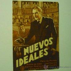 Cine: PROGRAMA DOBLE NUEVOS IDEALES .- FELIX DE POMES. Lote 36838676