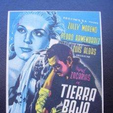 Cine: TIERRA BAJA, ZULLY MORENO, PEDRO ARMENDARIZ. Lote 36853847