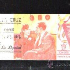 Cine: PROGRAMA DE CINE TROQUELADO. C/P. ¡HARKA!. CINE SANTA CRUZ. I.G.VILADOT. Lote 36883086