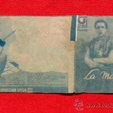 Cine: LA MALQUERIDA, DOBLE ORIGINAL, TARSILLA CRIADO JULIO PEÑA, SIN PUBLICIDAD. Lote 36951193