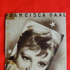Cine: PETER, DOBLE 1936, FRANCISCA GAAL HANS JARAY, CON PUBLICIDAD TEATRO PRÍNCIPE. Lote 36963880