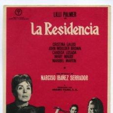 Cine: LA RESIDENCIA, CON LILLI PALMER.. Lote 142929633