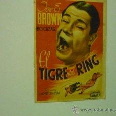 Cine: PROGRAMA ARAJOL EL REY DEL RING -JOE E BROWN. Lote 37008686