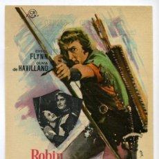 Cine: ROBIN DE LOS BOSQUES, CON ERROL FLYNN.. Lote 36997327