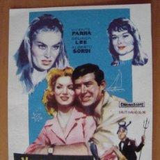 Cine: FOLLETO DE MANO VACACIONES EN MALLORCA 1960. Lote 37020586
