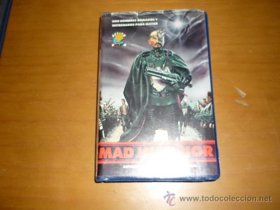 PELICULA VHS MAD WARRIOR ACTION VIDEO 90´1990 (Cine - Folletos de Mano - Ciencia Ficción)
