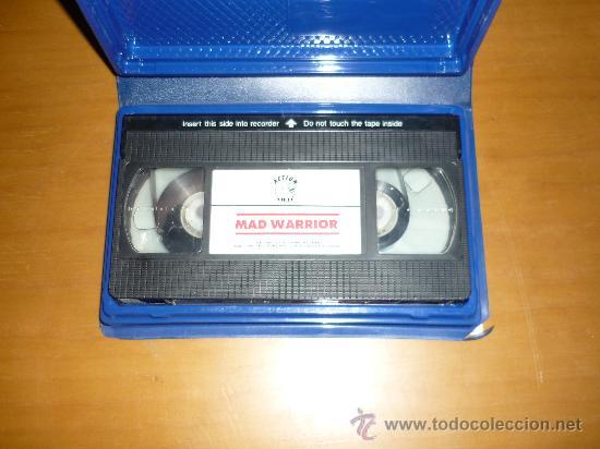 Cine: PELICULA VHS MAD WARRIOR ACTION VIDEO 90´1990 - Foto 2 - 37024188