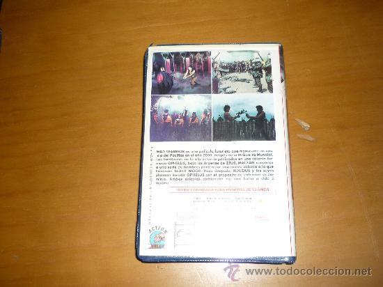Cine: PELICULA VHS MAD WARRIOR ACTION VIDEO 90´1990 - Foto 3 - 37024188