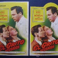Cine: EL GRITO ACUSADOR, HOWARD KEEL, VARIANTE. Lote 37178018