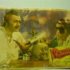 Cine: PROGRAMA EL PIRATA BOCANEGRA- ARAJOL. Lote 37242792