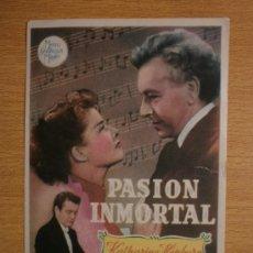 Cine: PASION INMORTAL.. Lote 37346450