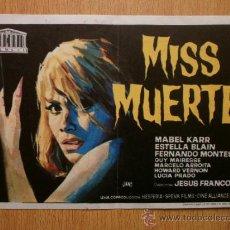 Cine: MISS MUERTE.. Lote 37376168
