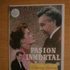Cine: PASION INMORTAL.. Lote 37418964
