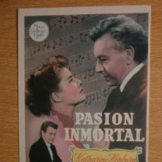 Cine: PASION INMORTAL.. Lote 37419327
