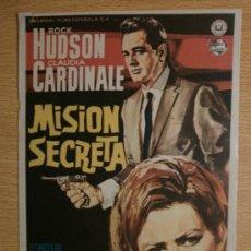 Cine: MISION SECRETA.. Lote 37419773