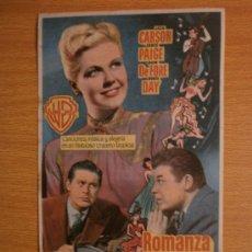 Cine: ROMANZA EN ALTA MAR.. Lote 37421547