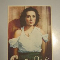 Cine: PROGRAMA DE MANO - CAPULLITO DE ALHELÍ - 1944 . Lote 37425089