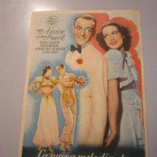 Cine: PROFRAMA DE CINE - LA NUEVA MELODÍA DE BROADWAY - 1940 - ALGUNA SUCIEDAD. Lote 37480239