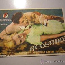 Cine: PROGRAMA DE CINE - ACOSADOS - 1946 . Lote 37497489