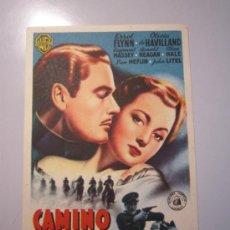 Cine: PROGRAMA DE CINE - CAMINO DE SANTA FE - 1940 . Lote 37547201