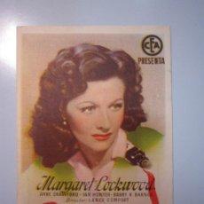 Cine: PROGRAMA DE CINE - BEDELIA - 1940 - PUBLICIDAD. Lote 37612814