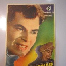 Cine: PROGRAMA DE CINE - CONTRAESPIONAJE - 1944 - . Lote 37613831