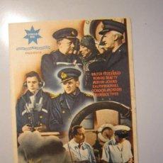 Cine: PROGRAMA DE CINE - SAN DEMETRIO LONDON - 1943 - PUBLICIDAD. Lote 37787449
