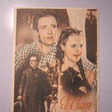 Cine: PROGRAMA DE CINE - EL CURA GAUCHO - 1941. Lote 37821300