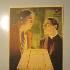 Cine: PROGRAMA DE CINE - ARREPENTIDO - 1939 . Lote 37916968