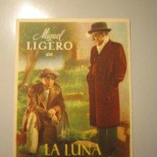 Cine: PROGRAMA DE CINE - LA LUNA VALE UN MILLÓN - 1945 - PUBLICIDAD. Lote 37917430