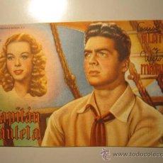 Cine: PROGRAMA DE CINE - LOUISE PLATT Y VICTOR MATURE - 1940 - PUBLICIDAD. Lote 37917829