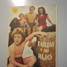 Cine: PROGRAMA DE CINE - TARZÁN Y SU HIJO - 1939 - PUBLICIDAD. Lote 38941178