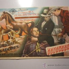 Cine: PROGRAMA DE CINE - COLMILLOS VENGADORES - 1934 - DOBLADO . Lote 38941527