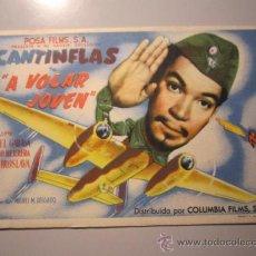 Cine: PROGRAMA DE CINE - A VOLAR JOVEN - 1947. Lote 38942806