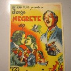 Cine: PROGRAMA DE CINE - PERJURA - 1938 . Lote 38989074