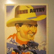 Cine: PROGRAMA DE CINE - EN ALAS DEL AMOR - 1940 - DOBLADO. Lote 39060755