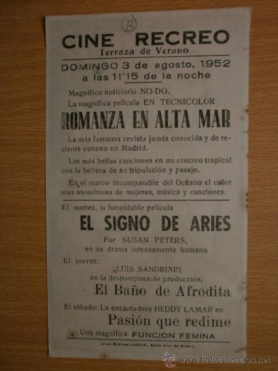 Cine: ROMANZA EN ALTA MAR. - Foto 2 - 37421547