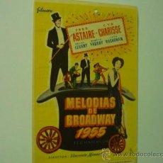Kino - programa melodias de broadway 1955 -fred astaire-publicidad - 37601502