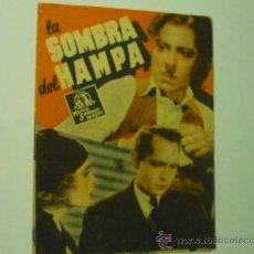 Cine: PROGRAMA DOBLE LA SOMBRA DEL HAMPA.- SELLO TEATRO NUEVO-CIUDAD RODRIGO. Lote 37601511