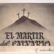 Cine - EL MARTIR DEL CALVARIO PROGRAMA DOBLE DESPLEGABLE HISPANO MEXICANA ENRIQUE RAMBAL - 37651226