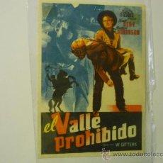 Cine: PROGRAMA EL VALLE PROHIBIDO.--NOAN BERY. Lote 37716390