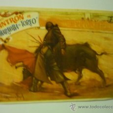 MARAVILLA DEL TOREO .- CONCHITA CINTRON-pùblicidad