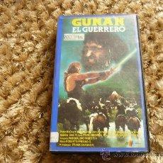 Cine: PELICULA VHS GUNAN EL GUERRERO 1982. DIR. FRANK SHANNON . Lote 37765239
