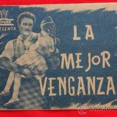 Cine: LA MEJOR VENGANZA, DOBLE 1942, , AMADEO NAZZARI ELSA GIORGI, EXCELENTE ESTADO CON PUBLI PROVENZA. Lote 37921121