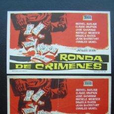 Cinema - SINFONIA PARA UNA MASACRE, RONDA DE CRIMENES, VARIANTE - 37962305