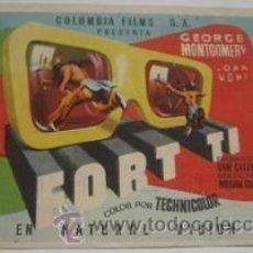 Cine: FORT TI. Lote 37967934