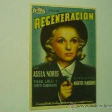 Cine: PROGRAMA REGENERACION - ARAJOL ASSIA NORIS. Lote 38040928