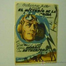 Cine: PROGRAMA EL MISTERIO DE LA ISLA PERDIDA.- 2 JORNADAS- GRANT WITHERS. Lote 38105374