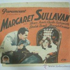 Cine: VIVIENDO EN LA LUNA PROGRAMA DOBLE PARAMOUNT HENRY FONDA MARGARET SULLAVAN. Lote 38127946